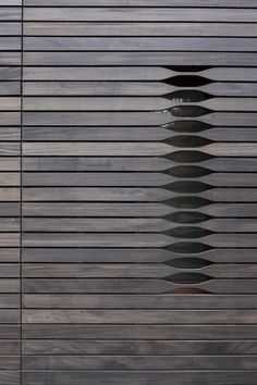 Architectural detail by architecture firm NADAAA