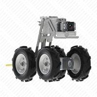 Robotic endoscope sewer pipe inspection camera pan tilt motorized system
