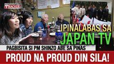 Pinalabas sa Japan TV! Pagbisita ni PM Shinzo Abe kay Duterte sa Davao, ...