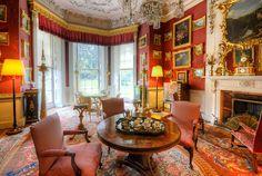 Felbrigg Hall, Norfolk | Flickr - Photo Sharing! Victorian Manor, Victorian Interiors, Red Interiors, Drawing Room Design, Drawing Rooms, English Manor Houses, Red Rooms, Antique Interior, Classic Interior