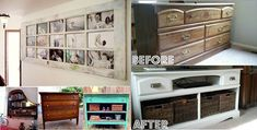 15 Clever Ideas to Repurpose Old Furniture