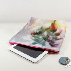 Clutches - Foldover Clutch mit Foto-Print aus Bio-Baumwolle - ein Designerstück von OPEN-DAILY bei DaWanda