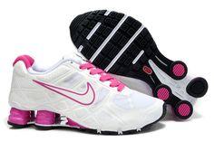 Nike Shox Turbo+ 12 Frauen Schuhe Weiß Rosa