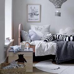 Bloomingville Soft Grey Cotton Throw - Beaumonde