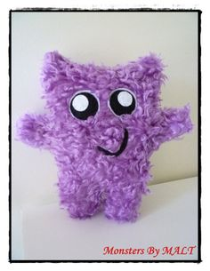 Fluffy cute cuddle monster - Maybe heat pack?