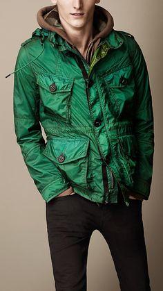 Lightweight Coated Ripstop Field Jacket | Burberry