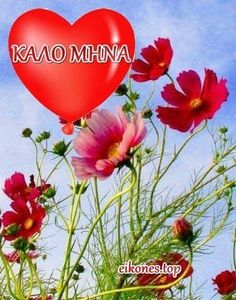 New Month Greetings, Greek Language, Happy Day, Good Morning, Best Quotes, Plants, Learning, Funny, Decor