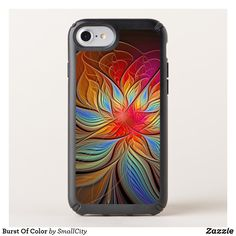 Shop Burst Of Color Speck iPhone Case created by SmallCity. Personalize it with photos & text or purchase as is! Diy Iphone Case, Iphone Cases For Girls, Cool Phone Cases, Iphone Case Covers, Iphone 8, Speck Cases, Ipad Sleeve, Design Case, Iphone Models