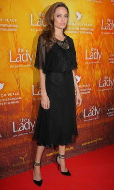 Angelina Jolie in Miguelina at The Lady Film premiere in Berlin, 2012