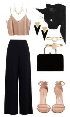 """""""Untitled #14"""" by emminna ❤ liked on Polyvore featuring beauty, Zimmermann, Boohoo, Yves Saint Laurent, Stuart Weitzman, Charlotte Russe and Accessorize"""