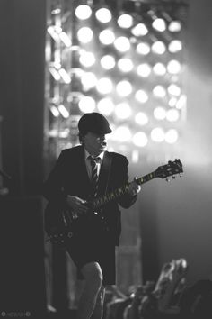 """When I'm on stage the savage in me is released. It's like going back to being a cave man."" -Angus Young"