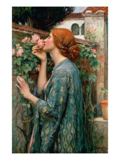 The Soul of the Rose, 1908 (Oil on Canvas) Giclée-Druck von John William Waterhouse bei AllPosters.de