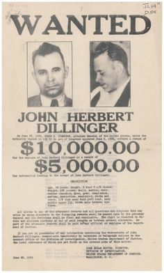 John Dillinger was a bank robber during the Great Depression who robbed two dozen banks and four police stations Gangster Party, Real Gangster, Gangster Quotes, Gangster Tattoos, Mafia Gangster, Roaring 20s Party, 1920s Party, Gatsby Party, Roaring Twenties