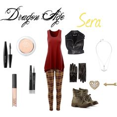"""""""Sera - Dragon Age Inquisition"""" by daily-insanity on Polyvore"""