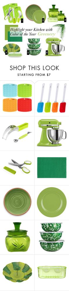 Decorate your kitchen with Pantone Color of the Year by helenmilleroyy on Polyvore featuring interior, interiors, interior design, home, home decor, interior decorating, Pantone Universe, KitchenAid, Thos. Baker and Waechtersbach