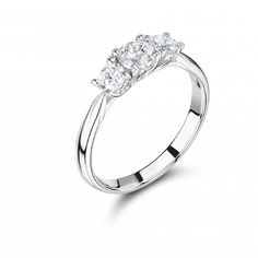 Three stone ring #engagementring
