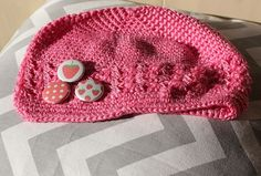 Strawberry Polka Dot and Mini Fruit   Cute Crochet by willowbeshop, $15.00