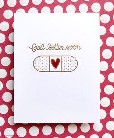 Simple Get Well Cards – kwernerdesign blog