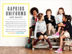 Gap school uniforms