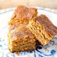 The addition of peanut butter takes these Snickerdoodle Bars up to a whole new level!