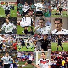 Futbol de Locura: Los 16 goles de Miroslav Klose en los Mundiales