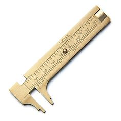 Small Brass Calliper Gauge   Tools