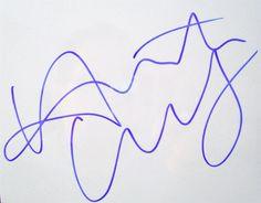 Heath Ledgers Signature