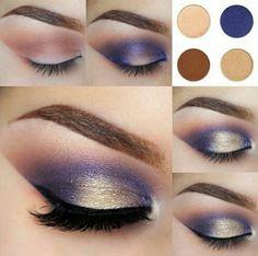 No pensé que fuera tan fácil : Maquillaje de ojos paso a paso!!
