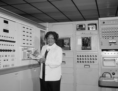 """Space Pioneer Mary Jackson -Mathematician/Computer Programmer at NACA/NASA who help to put the first American on the moon. One of the women portrayed in the film """"Hidden Figures""""."""