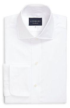 Ledbury Classic Fit Solid Dress Shirt