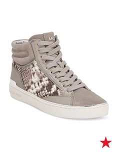 Newflash: Hi-tops aren't just for the boys. There's nothing like cool sneakers to step up your casual looks — MICHAEL Michael Kors Kyle hi-top sneakers