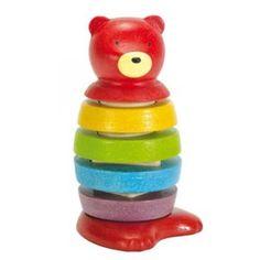 Stacking Bear by Plan Toys