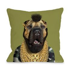 My design inspiration: Fool Dog Pillow on Fab.