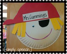 pirate activities - talk like a pirate day