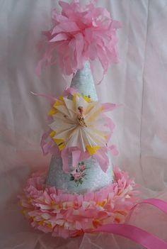 Ballerina Paper Party Hat