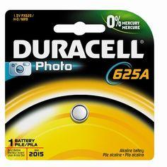 Duracell PX625ABPK Photo Batteries, Size 1.5 Volt Alkaline