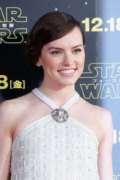 Daisy Ridley. Daisy was born on 10-4-1992 in London as Daisy Jazz Isobel Ridley. She is an actress, known for Star Wars: The Force Awakens, Lifesaver, Scrawl and Blue Season.
