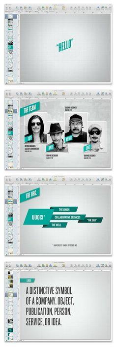 Cool Keynote Presentation design-inspiration