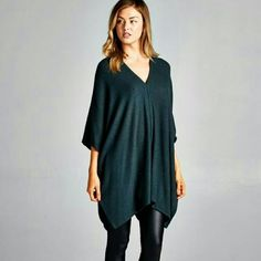 NEW The Secret  Tunic in Teal Beautiful Tunic in a cute teal shade,  wear with your favorite leggings.   Material is rayon,  polyester,  spandex  Size S/M   M /L  Please indicate your size PRICE FIRM UNLESS BUNDLED Follow me on Facebook  Sweet-bb Boutique  Tops Tunics