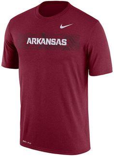 14b9567ea1ac Nike Men s Arkansas Razorbacks Legend Staff Sideline T-Shirt