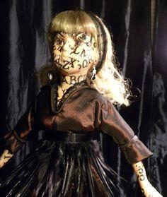 Haunted Ouija Doll by DimDiminy on Etsy,