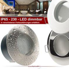 5er Set (1-5er Sets) Decken Einbaustrahler Bad NAUTIC IP65 rund 230V EDELSTAHL OPTIK gebürstet; COB LED 5,5W = 60W DIMMBAR; GARANTIE 4 Jahre*; Warm-Weiß; Einbauleuchte für Feuchtraum + Außen - http://led-beleuchtung-lampen.de/5er-set-1-5er-sets-decken-einbaustrahler-bad-nautic-ip65-rund-230v-edelstahl-optik-gebuerstet-cob-led-55w-60w-dimmbar-garantie-4-jahre-warm-weiss-einbauleuchte-fuer-feuchtraum-aussen/ #BadEinbauleuchten