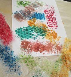 Printmaking art for kids |