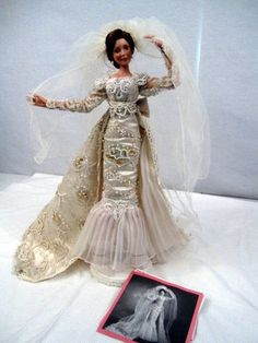 """Ashton-Drake Galleries: """"Caroline, Forever Starts Today"""" bride doll, by Cindy McClure 1997-2001"""