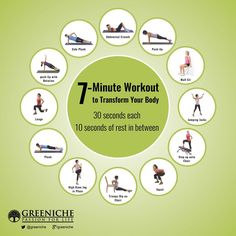 7 Mins Workout Plan!