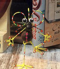 Raton con alambre manualidades