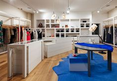 Chilli Clothing in Essendon by Kerry Phelan Design Office featuring our White Smoked timber floors throughout.  www.royaloakfloors.com.au