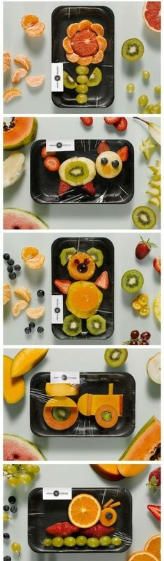 Fun for Kids fruit platters #coupon code nicesup123 gets 25% off at Provestra.com Skinception.com