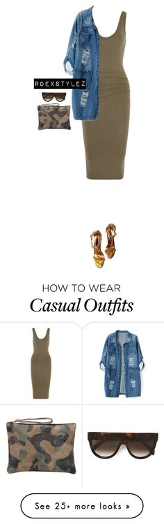 """""""CASUAL COLLECTION"""" by roexstylez89 on Polyvore featuring James Perse, Chicnova Fashion, George J. Love and CÉLINE"""