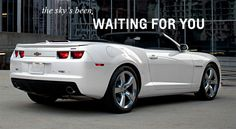 ...and i've been waiting for it! #2012 Camaro convertible